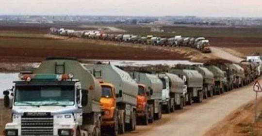 سرقة النفط السوري
